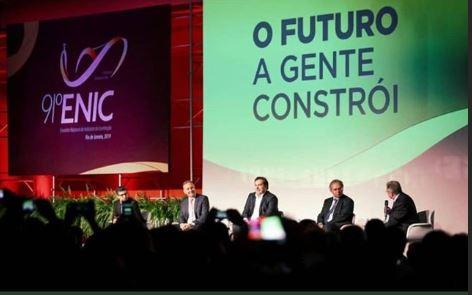 8e8fd372 bc7d 4fed b81e f25cb5b0132a - Aguinaldo Ribeiro participa do encerramento do 91° ENIC e destaca papel do Congresso na formulação de políticas de incentivo à indústria