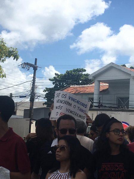 Ato público educação - PARAÍBA PELA EDUCAÇÃO: Estudantes, professores e funcionários protestam contra corte no orçamento das instituições federais