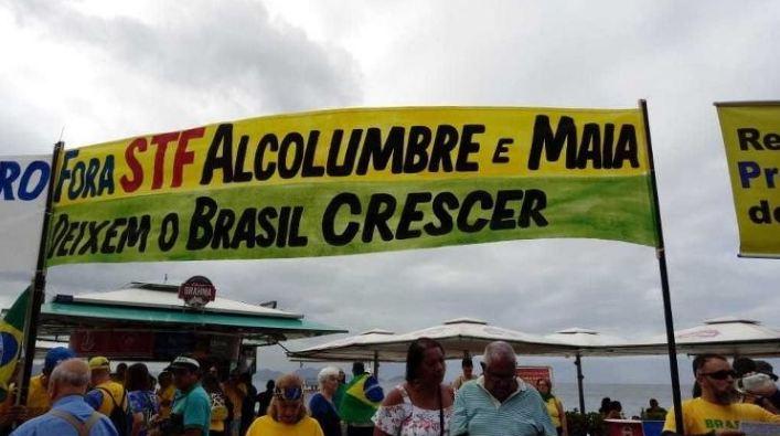 """Capturar1 6 - Atos pró-Bolsonaro são """"lenha na fogueira"""" com Congresso, dizem analistas"""
