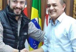 EM SÃO PAULO: Presidente da CMJP, João Corujinha, tem encontro com chefe do Legislativo da capital paulista