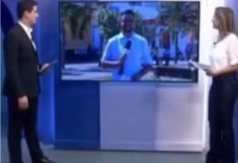 Apresentador da Globo se entrega, e chama repórter de gostoso ao vivo – VEJA VÍDEO