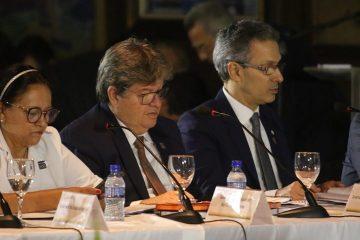 João Azevedo 4 1200x480 - João Azevêdo e demais governadores do Nordeste asseguram recursos para infraestrutura
