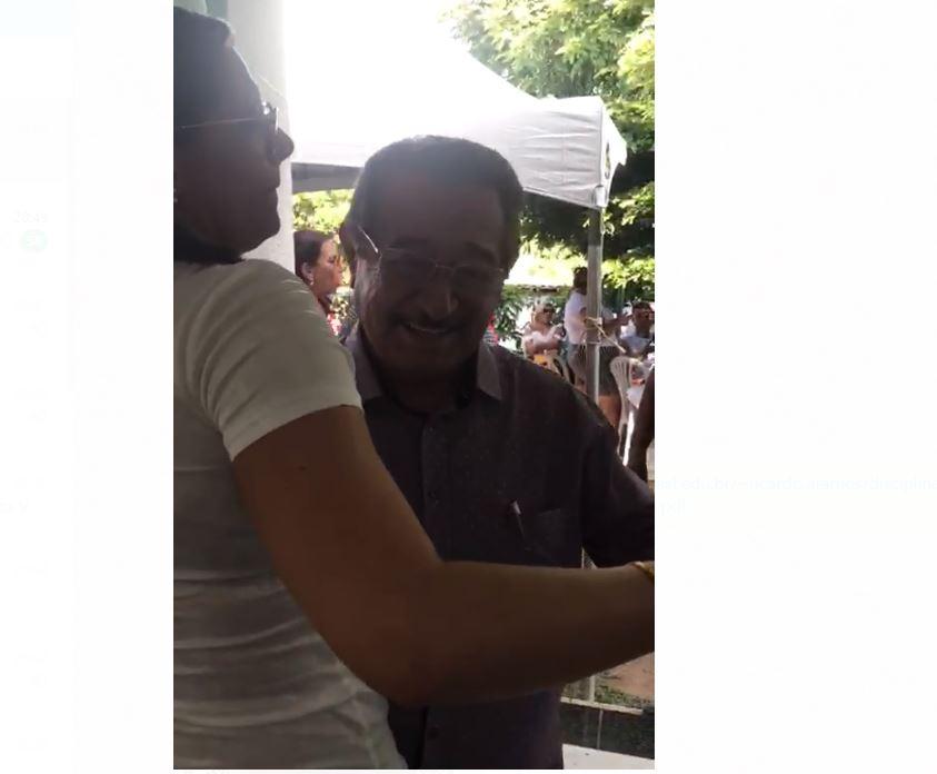 MARANHAO - VÍDEO: no aniversário de Areia/PB, senador Zé Maranhão mostra disposição no alto dos seus mais de 80 anos e cai no forró