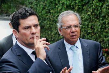 Moro e Guedes e1558573663130 - 4 COM MORO E 5 COM GUEDES: saiba como os deputados paraibanos votaram sobre ministério que cuidará do COAF