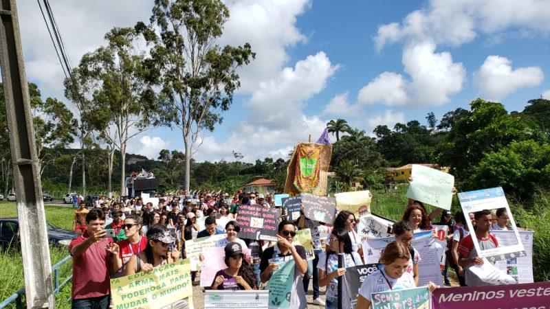 Protesto Bananeiras 2 - PARAÍBA PELA EDUCAÇÃO: Estudantes, professores e funcionários protestam contra corte no orçamento das instituições federais