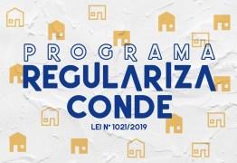 Prefeitura de Conde lança programa de regularização de construções irregulares na cidade