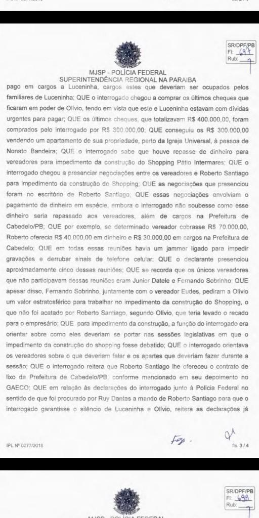 Screenshot 20190518 104400 512x1024 - EXCLUSIVO: Advogado diz que Fabiano Gomes revelou para Polícia Federal que Roberto Santiago não pressionou testemunhas - VEJA TODO O DEPOIMENTO