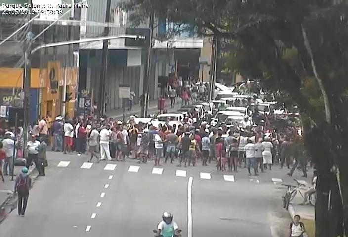 WhatsApp Image 2019 05 29 at 10.02.04 - MANIFESTAÇÃO EM JP: Ambulantes protestam contra recomendação do Ministério Público