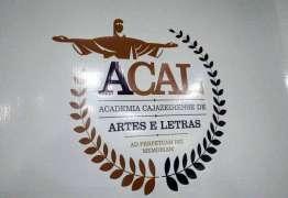 ACAL- Academia de Artes e Letras é instalada em Cajazeiras nesta sexta-feira