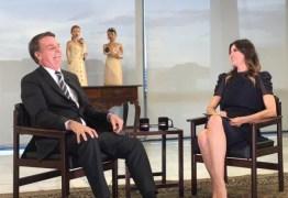 'O racismo é uma coisa rara no Brasil', diz Bolsonaro em entrevista a Luciana Gimenez