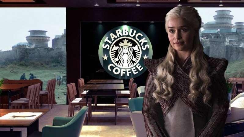 daenerys starbucks - HBO edita Game of Thrones e tira copo de café da Starbucks que apareceu em cena
