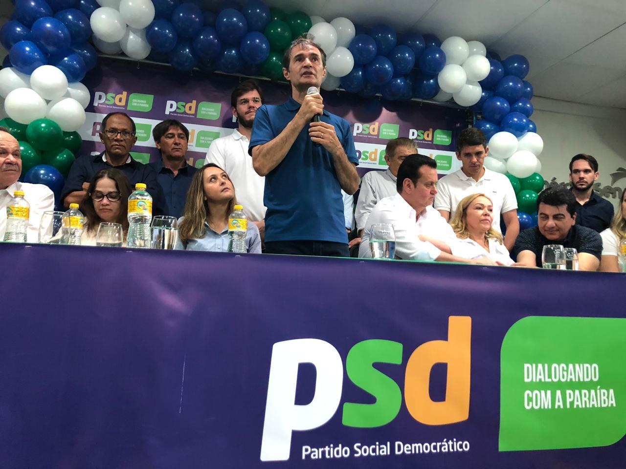 e8e761f2 b1f0 4e05 abfb ef1fdc223549 - DE OLHO EM 2022: Romero assume comando do PSD na Paraíba
