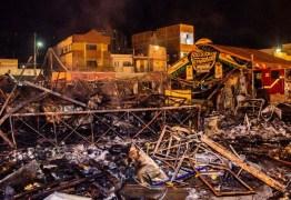 Comerciantes atingidos por fogo no Parque do Povo entram com ação de indenização contra a Aliança e a PMCG