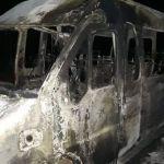 incendio van - INCÊNDIO: Van de time de futebol pega fogo no Cariri paraibano