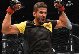 CAMPEÃO DO TUF: Léo Santos mostra empolgação para retorno ao UFC neste sábado