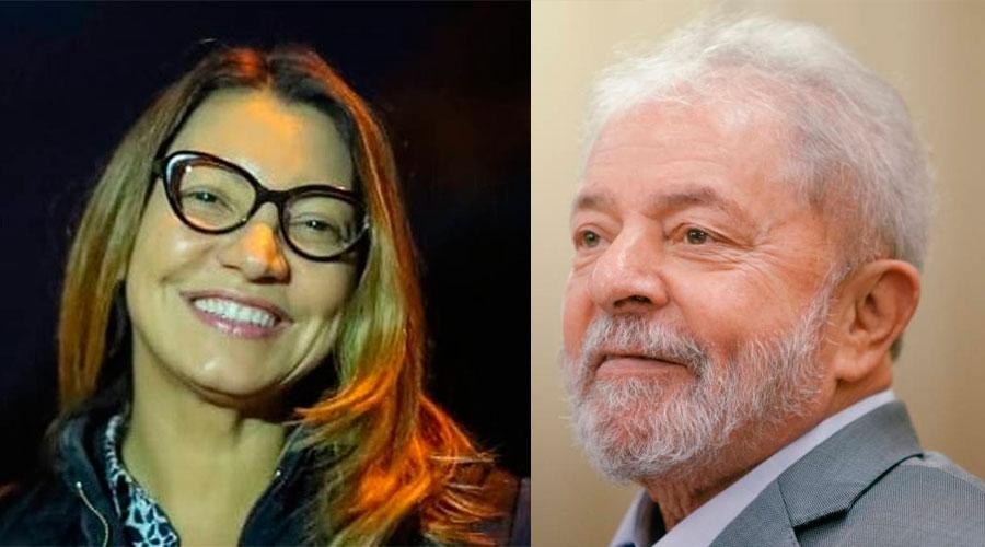 lula rosangela - Namorada de Lula critica pedido de progressão de pena para o ex-presidente