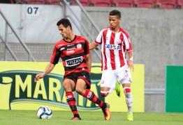 COPA NORDESTE: Campinense perde para o Náutico e desperdiça chance de disputar em 2020