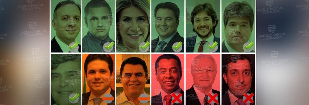 montagem463 1024x350 - REFORMA DA PREVIDÊNCIA: se a votação dependesse apenas dos deputados paraibanos, qual seria o resultado?