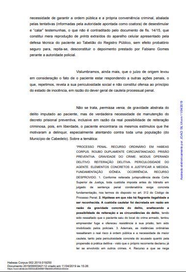 mp5 - CRISE E RACHA NO MP: Parecer pela soltura de Roberto Santiago de Dr. Sagres é contestado pelo GAECO - VEJA NOTA