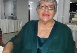 Faleceu neste sábado a atriz e escritora guarabirense Neide Polari