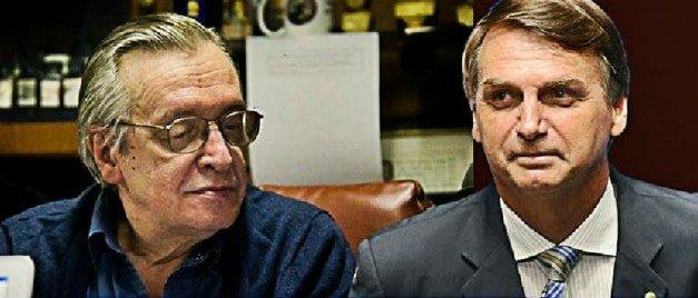 olavo e bolsonaro - O olavismo é o partido autoritário que falta ao bolsonarismo - PorCelso Rocha de Barros