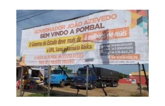 out 300x193 - HIPOCRISIA CRÔNICA: Secretaria de Estado de Saúde emite nota e esclarece que prefeitura de Pombal deve quase R$ 4 milhões ao Governo do Estado