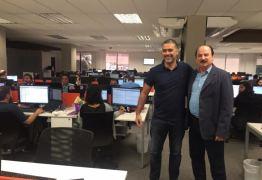 Secretário Durval Ferreira, também presidente do Conselho Administrativo do Extremotec, visita empresas filiadas ao Polo