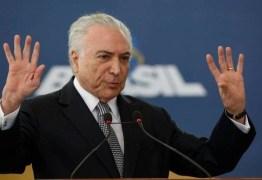 ORGANIZAÇÃO CRIMINOSA: ex-presidente Michel Temer vira réu pela sexta vez