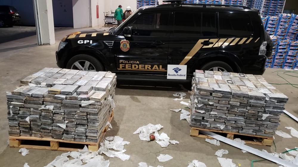 whatsapp image 2019 05 13 at 19.00.39 - TRÁFICO INTERNACIONAL: PF apreende 1 tonelada de cocaína em carga de mangas no porto de Natal