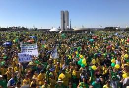 MANIFESTAÇÕES PRÓ-BOLSONARO: milhares de pessoas vão às ruas defender pautas governistas