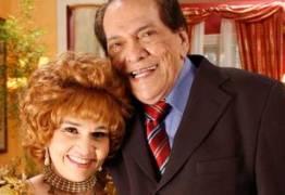 Cláudia Rodrigues faz homenagem a Lúcio Mauro: 'Viúva mais triste do planeta'