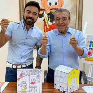 xmauriciossss.jpg.pagespeed.ic . fHNlS1Oxb 300x300 - Filho de Mauricio de Sousa fala da aceitação do pai em ele ser gay: 'Cabeça aberta'