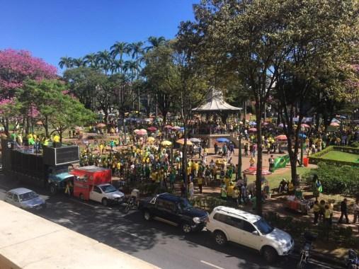 1255 300x225 - Protestos em defesa da reforma da Previdência, da Lava Jato e de pacote anticrime acontecem por todo o Brasil