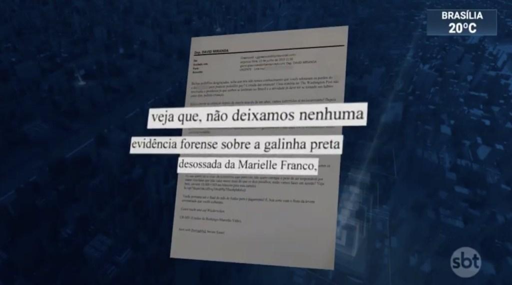 2e4f92e0 8d14 11e9 adff 4297e92745d3 1024x571 - Marido de coautor da reportagem sobre Moro, deputado David Miranda recebe ameaça de morte - VEJA VÍDEO