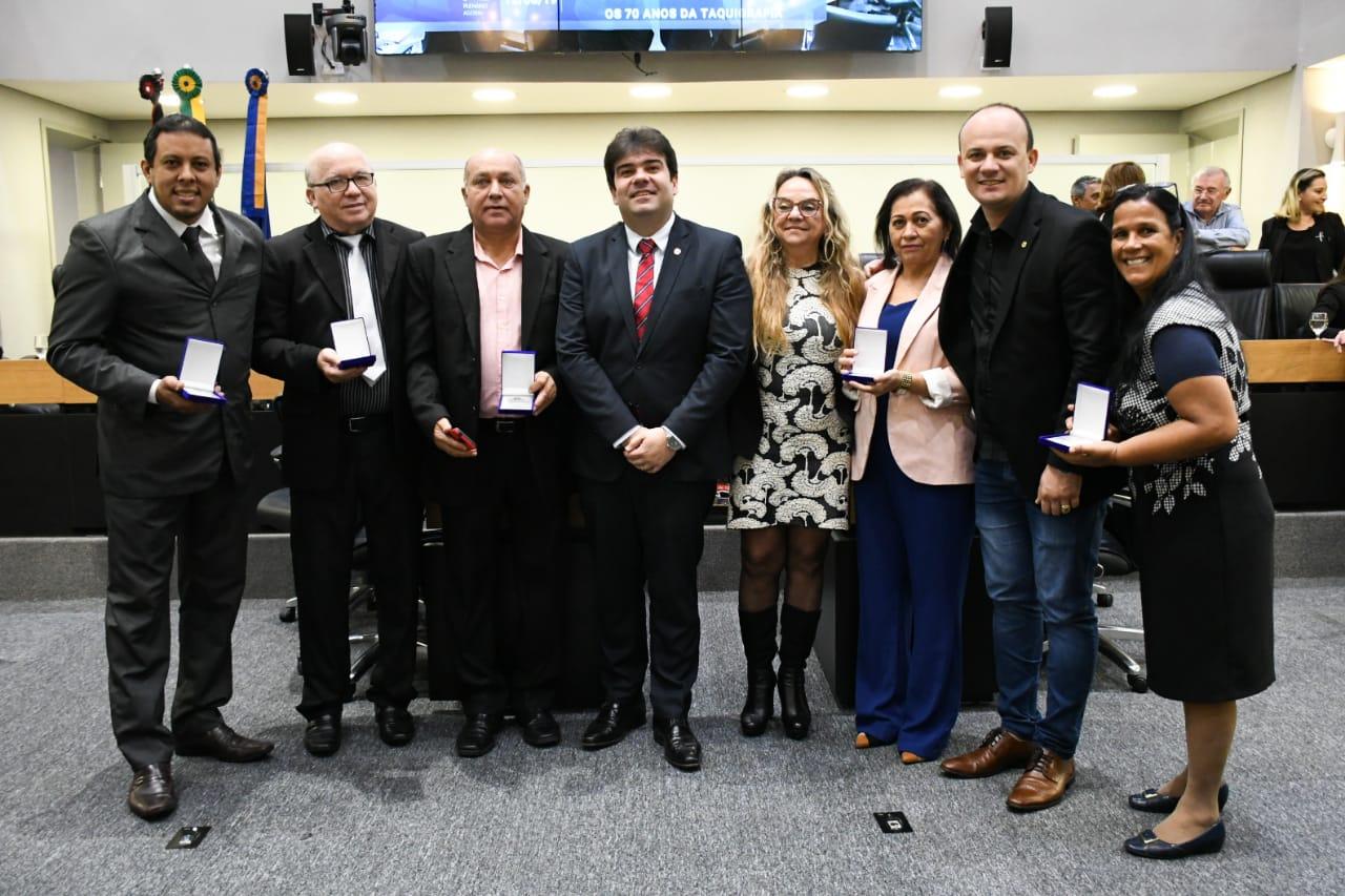 52f25e61 0682 4c27 84d1 ee6e0799dade - Emoção marca homenagem aos 70 anos da Taquigrafia da Assembleia Legislativa da Paraíba