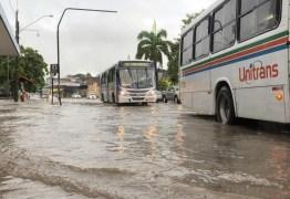 CHUVAS INTENSAS: Defesa Civil recebe novo alerta de risco alto para este sábado, em João Pessoa