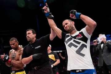 5d08ef46b4d35 - Paraibano é retirado de card do UFC e substituído por americano