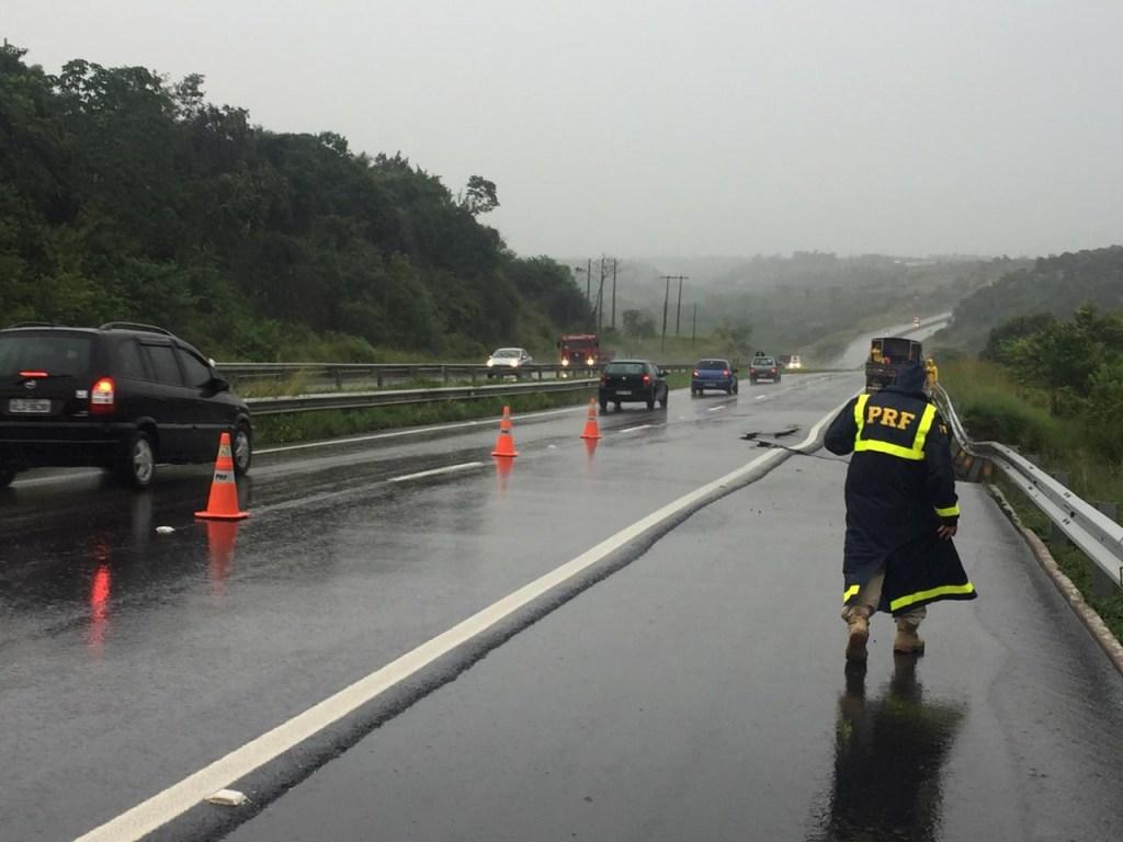 639e6978 b8bf 483b 8540 125142019fa6 1024x768 - BR 230 RACHADA: Fortes chuvas fazem asfalto ceder em Santa Rita; PRF emite alerta