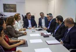 Luciano se reúne com dirigentes da Caixa Econômica de Brasília e discute projetos importantes de infraestrutura para João Pessoa