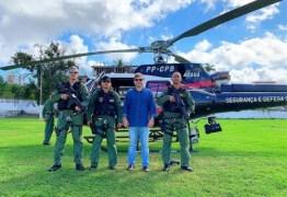 PERÍODO JUNINO: Corpo de Bombeiros da PM faz simulação de resgate aéreo – VEJA VÍDEO