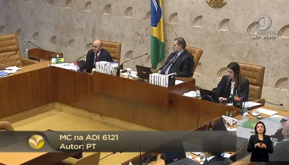 Capturar1 3 - Plenário do STF julga pela primeira vez ação contra decreto de Bolsonaro - ACOMPANHE AO VIVO