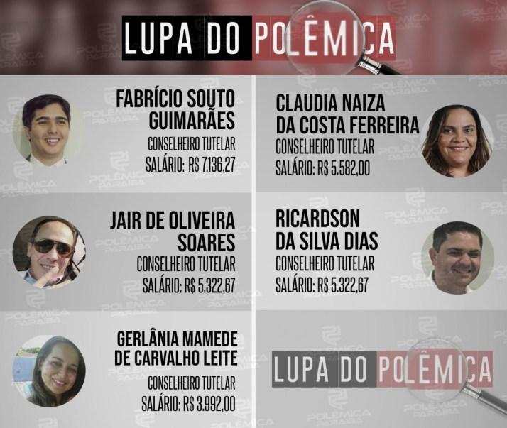 Lupa 5 Conselheiros Tutelares Info 300x253 - LUPA DO POLÊMICA: Quais as atribuições e quanto custam os conselheiros tutelares de João Pessoa?
