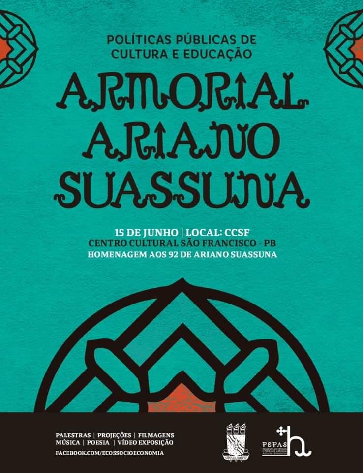 Centro Cultural São Francisco celebra 92 anos de Ariano Suassuna e lança programa de estudos e pesquisas neste sábado