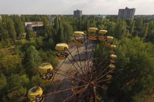acidente nuclear em chernobyl 9 300x200 - 33 anos depois do acidente nuclear, veja como está Chernobyl na vida real