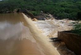 DADOS DA AESA: Seis açudes da Paraíba sangram após chuvas no mês de junho