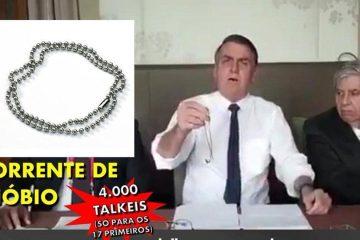 bolsonaro niobio e1561929041456 - DESCENDO A LADEIRA: O Brasil entre constrangimentos e bijuterias de nióbio! - Por Francisco Airton
