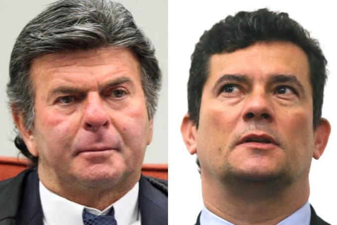 brasil luiz fux sergio moro - 'IN FUX WE TRUST': disse Moro a Deltan emnova mensagem vazadacom primeira citação a Ministro