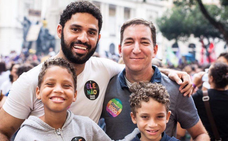 david glenn e1561845695431 - A função de Greenwald é desmoralizar Moro e ridiculariza-lo perante a opinião pública - Por Júnior Gurgel