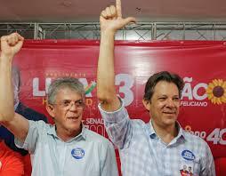 Haddad fará uma visita à Paraíba e terá um encontro com Ricardo Coutinho