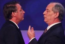 'Não creio que Bolsonaro termine mandato', diz Ciro